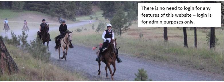 PNER - Pacific Northwest Endurance Riders